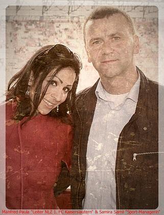 Samira Sammi und Manfred Paula