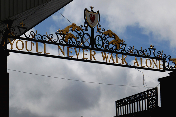 You'll Never Walk Alone in Anfield