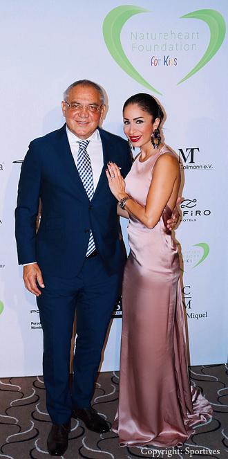 Felix Magath & Samira Samii
