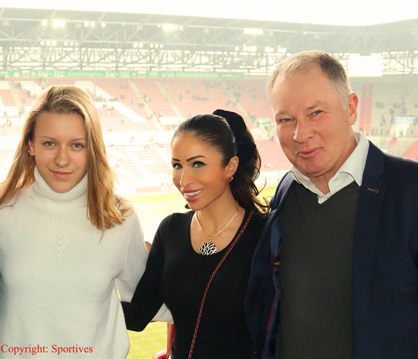 Samira Samii – Sammy Kühne – Stefan Reuter in der WWK Arena
