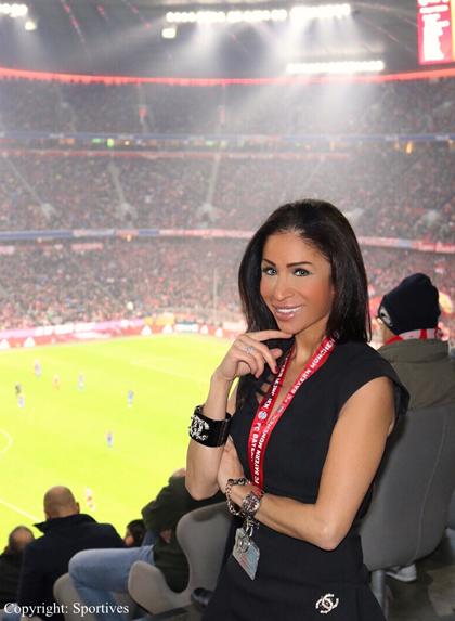 Samira Samii Sport-Managerin & Rund-Kolumnistin