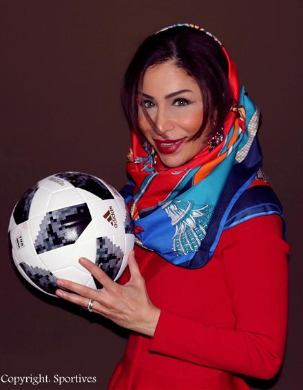 Sportmanagerin & Rund-Kolumnistin Samira Samii