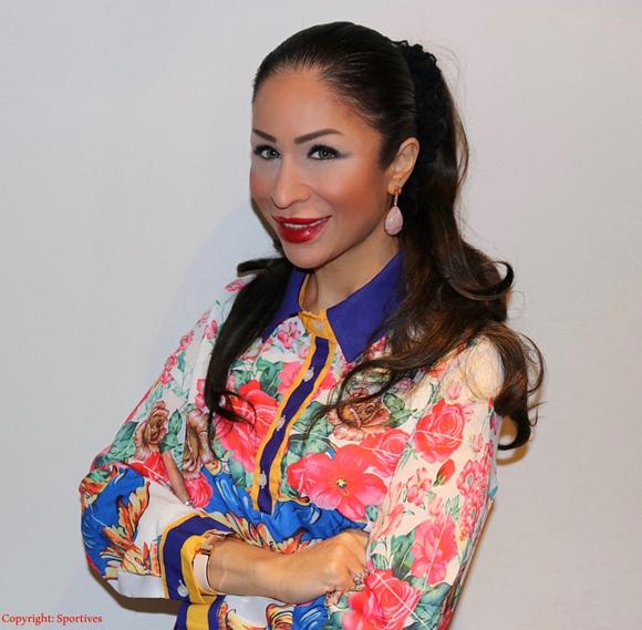Sportmanagerin & Rund-Kolumnistin Dr. Samira Samii