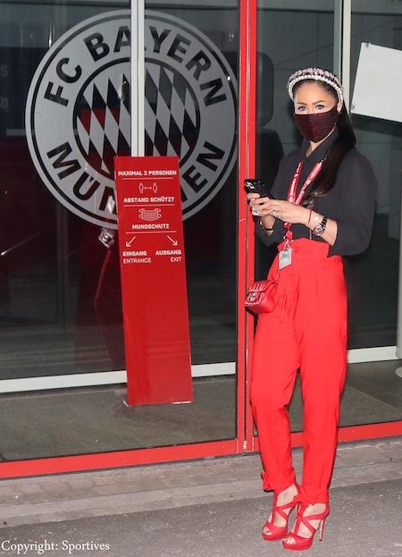 Sportmanagerin & Rund-Kolumnistin Dr. Samira Samii beim FC BAYERN