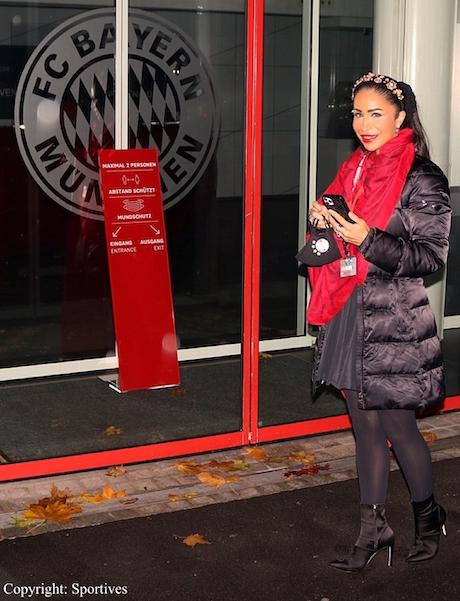 Sportmanagerin & Rund-Kolumnistin Dr. Samira Samii beim FC Bayern München
